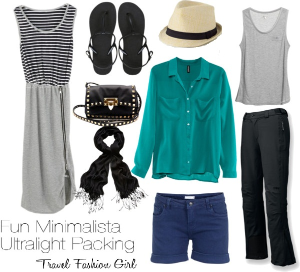Minimalist Packing With Style!
