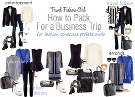 how to pack for a business trip packing list travel outfits thumb