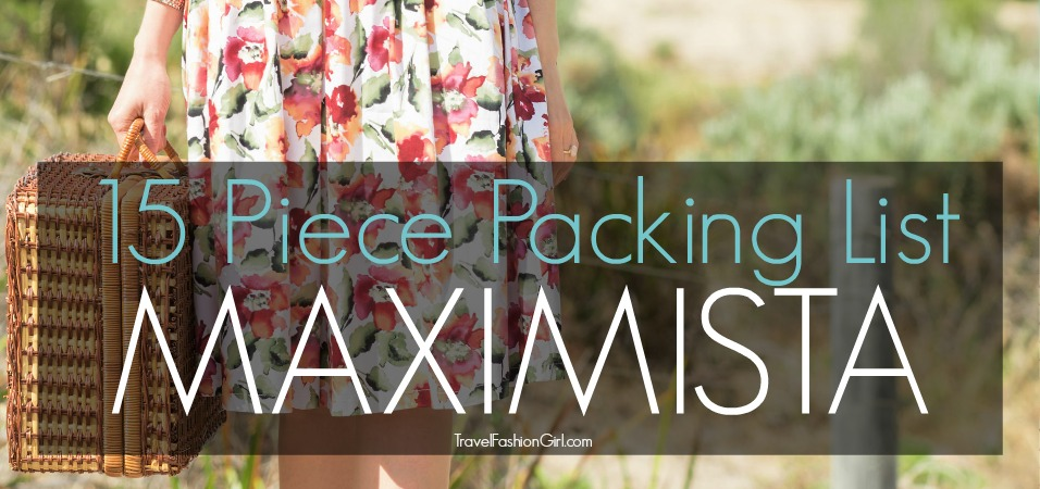 Maximista Packing List For Winter Cold Weather Travels
