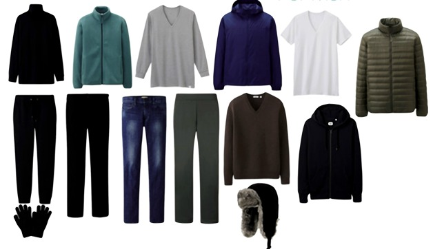 Ultralight Warmth: UNIQLO Winter Sports Holiday Packing List