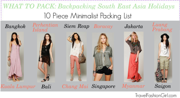 Shop The Backpacking South East Asia Holidays Packing List
