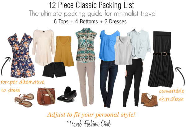 Shop The Classic Packing List