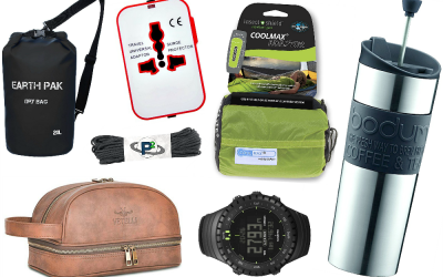 Travel Gift Ideas for Him: 20 Essential Backpacking Gadgets