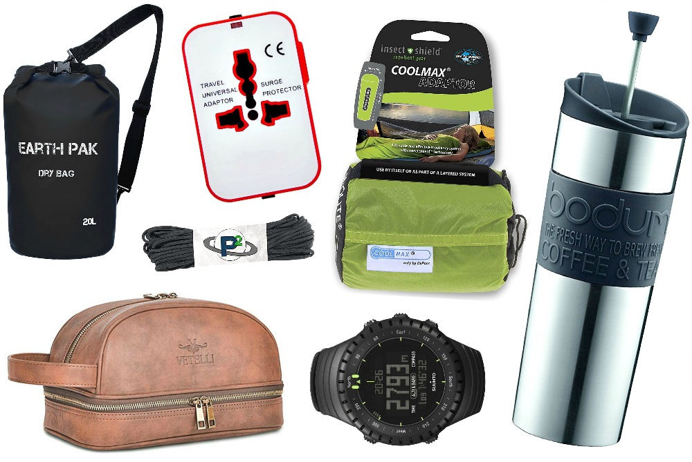 Travel Gift Ideas for Him: 23 Gadgets and Backpacking Essentials
