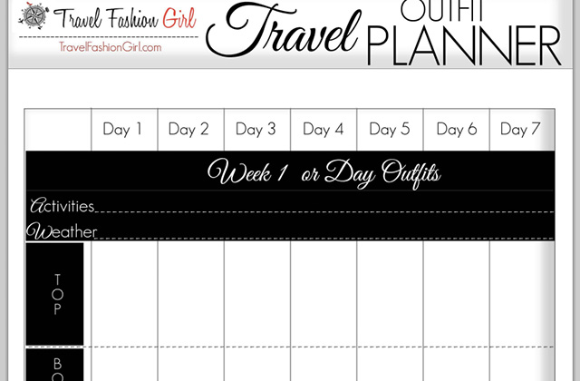 how to plan your travel outfits 5 style tools show you how