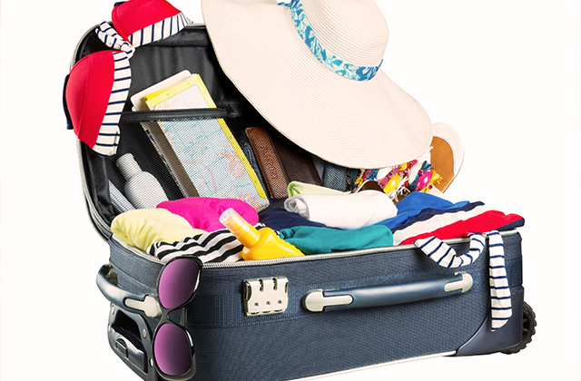 7 Steps for a Perfectly Packed Suitcase