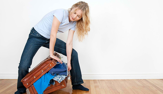 Packing Hacks: One Trick to Instantly Downsize your Luggage