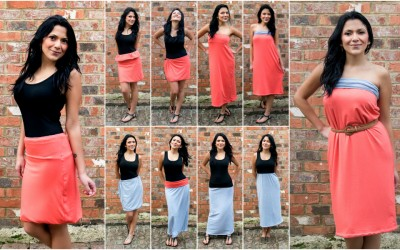 Convertible Dress Skirt and More – How Many Ways Can I Transform this Multi-way Garment?