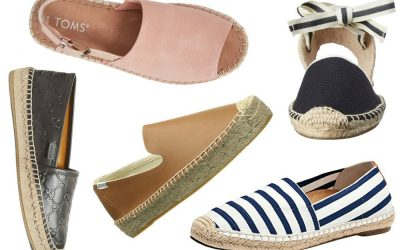 10 Stylish Womens Espadrilles: Shoes for a 2019 Summer Getaway