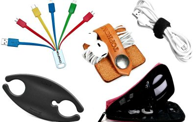Best Travel Cord Organizers to Stop Tangled Electronic Cables