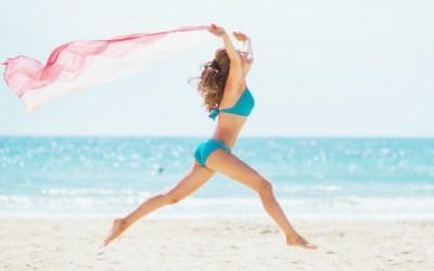 Swimwear Trends: Ruffles, Straps, and Scallops