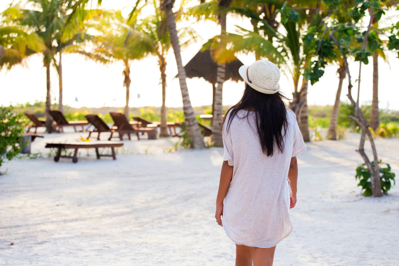 Summer Clothes and Travel Accessories for a Stylish Beach Escape
