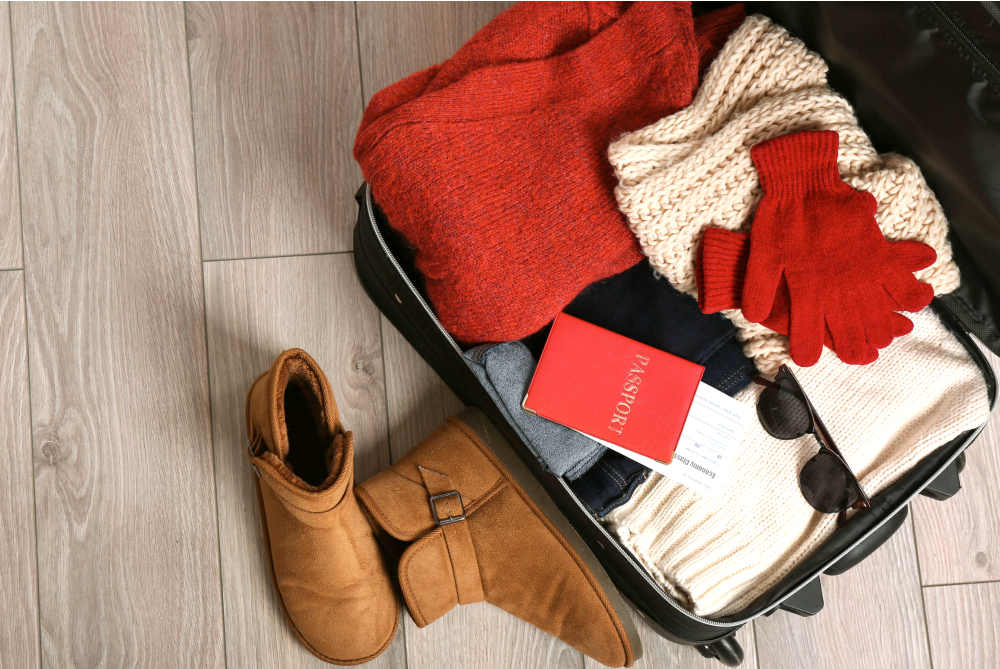 Save Suitcase Space with these Winter Packing Tips
