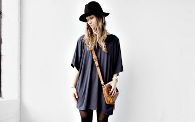 A Kimono Style Cardigan that when Reversed is a Chic Shift Dress. What?
