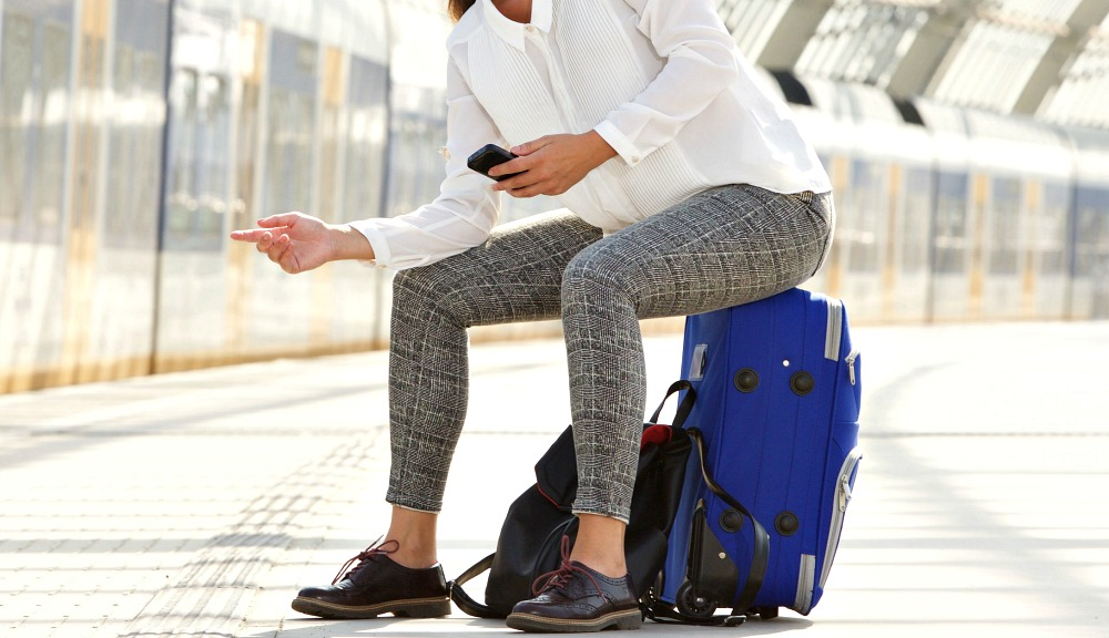 Liven Up Your Neutral Travel Wardrobe with Printed Pants Like These
