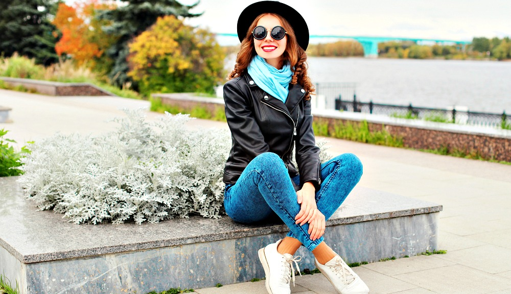 7b15528f32f How to Wear a Leather Jacket  10 Styles to Shop Now