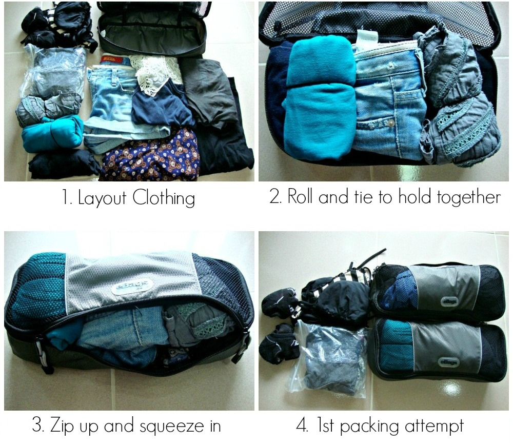 How To Use Packing Cubes Travel Fashion Girl