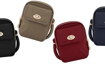 Travelon Anti-Theft Crossbody Phone Purse Review