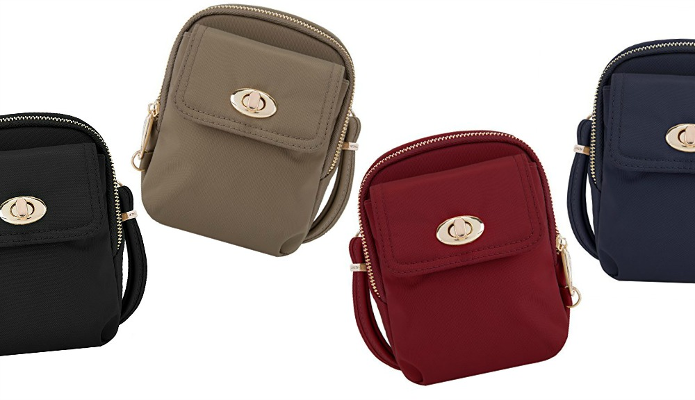 e2d99f72c8 Travelon Anti-Theft Crossbody Phone Purse Review