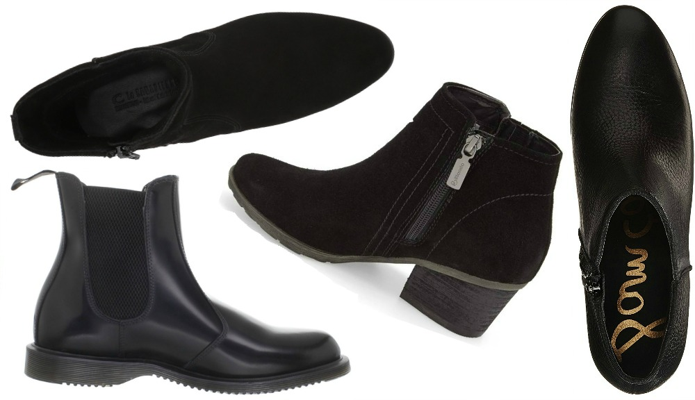 9 Best Black Ankle Boots for Sightseeing
