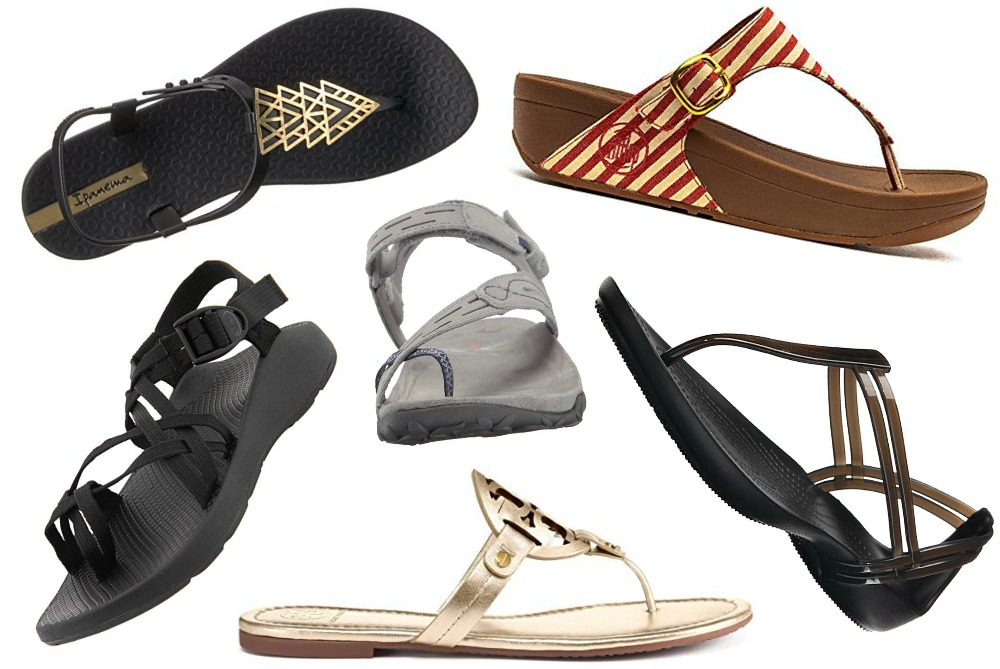 11 Beach Sandals for Hot Weather Vacations