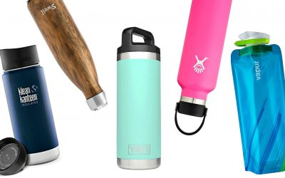 What's the Best Travel Water Bottle? 7 Picks for Long Flights