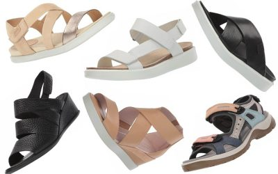 Ecco Sandals Currently on Sale