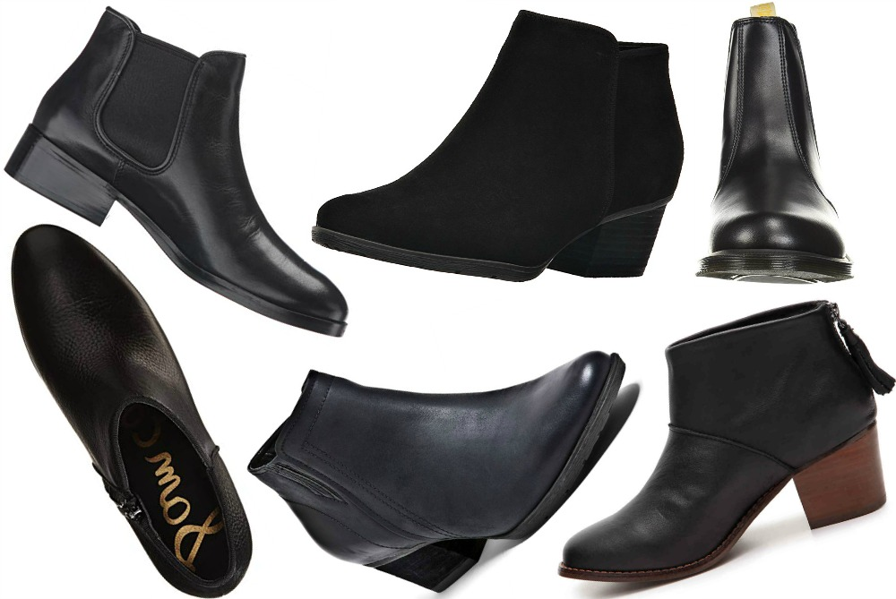 db3411a21 10 Best Black Ankle Boots for Sightseeing