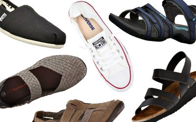 Most Comfortable Shoes Travel Bloggers Swear By