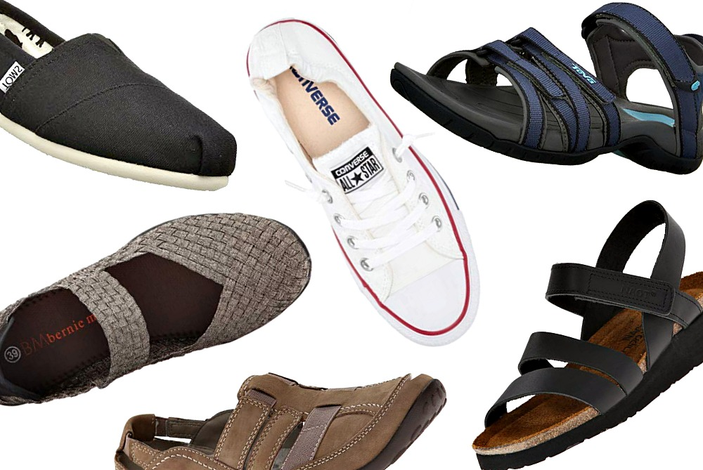 93134d017db0 Travel Bloggers Reveal Their Most Comfortable Shoes