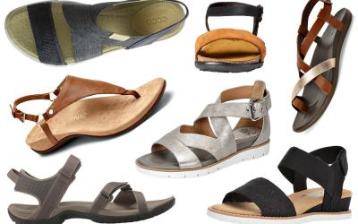 13 Comfortable Walking Sandals that Don't Sacrifice Style