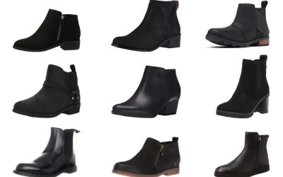 10 Most Comfortable Womens Black Ankle Boots for Sightseeing