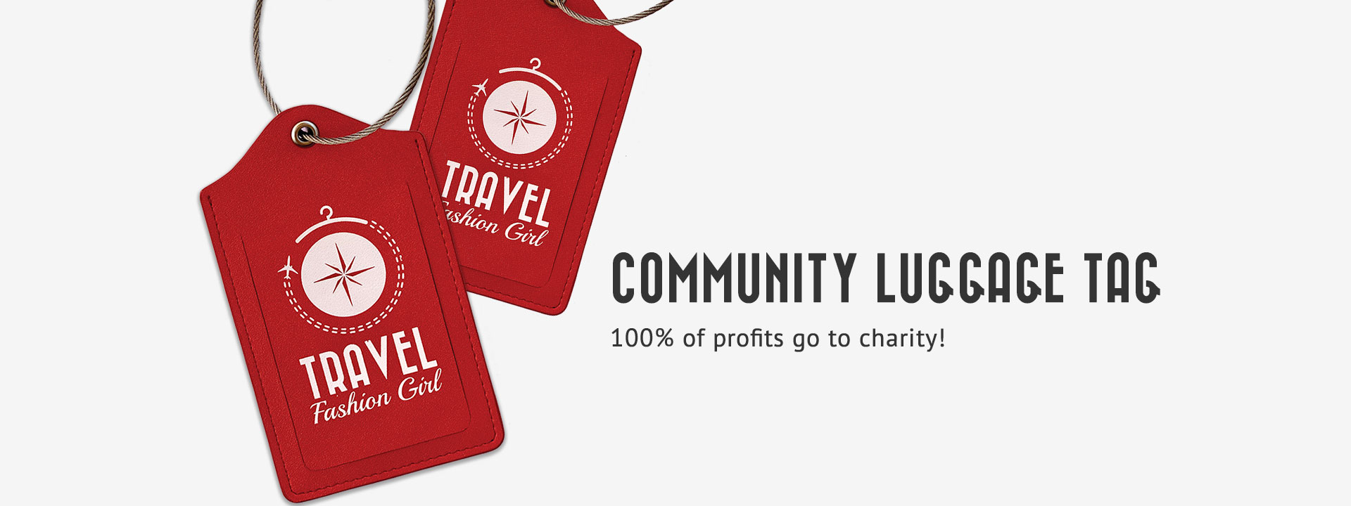 TFG Community Luggage Tags
