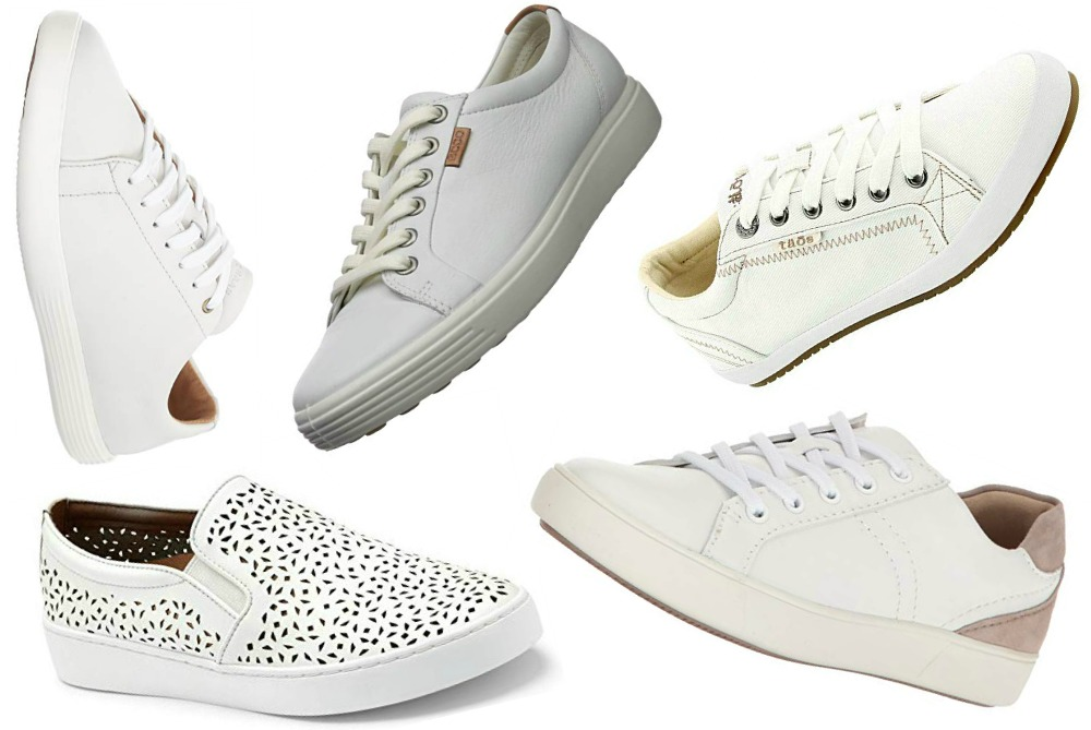 10 Best White Sneakers for Jetsetters