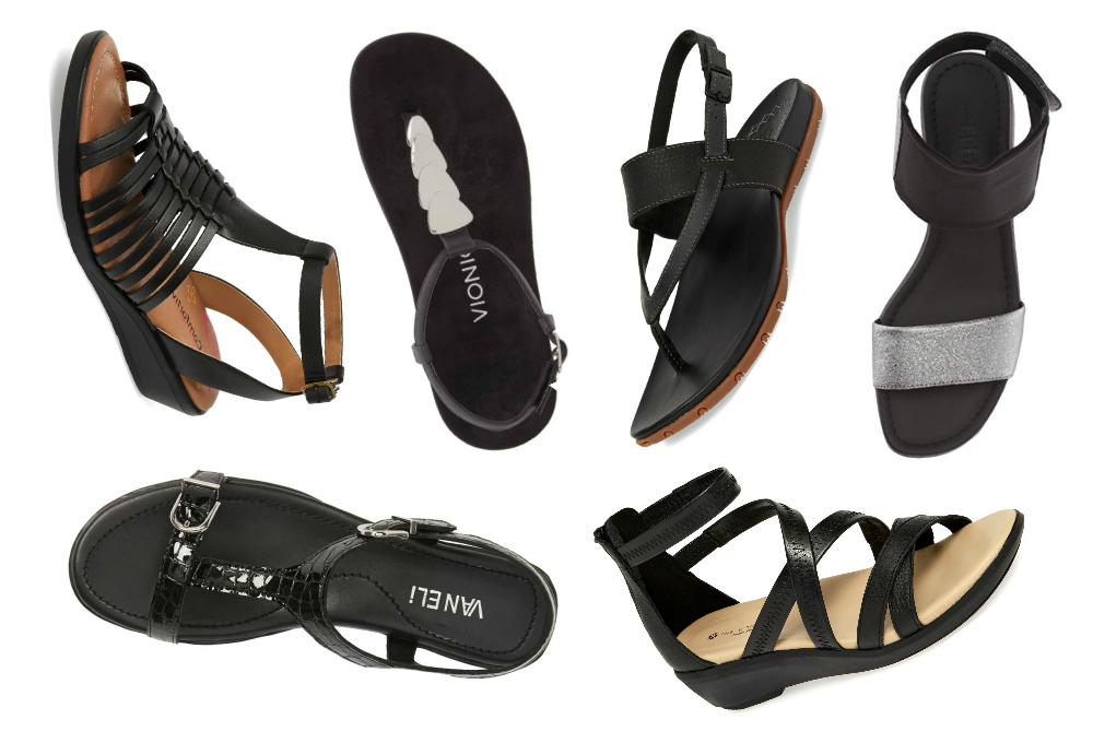 The Best Black Sandals for Summer Travels