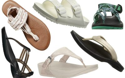 12 Beach Sandals for Hot Weather Vacations