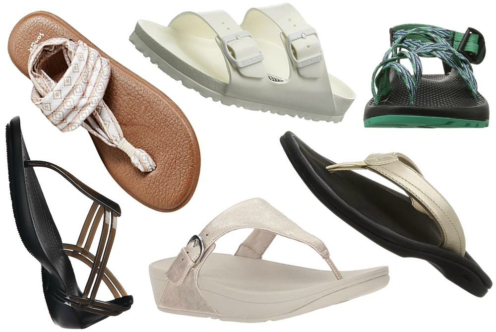 12 Beach Sandals Perfect for Hot