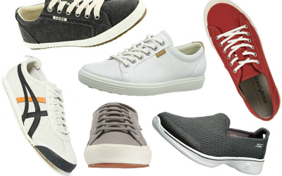 Travel-Friendly Womens Casual Sneakers