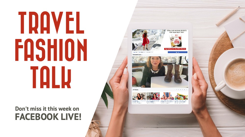 Travel Fashion Talk: Episode November 6, 2019