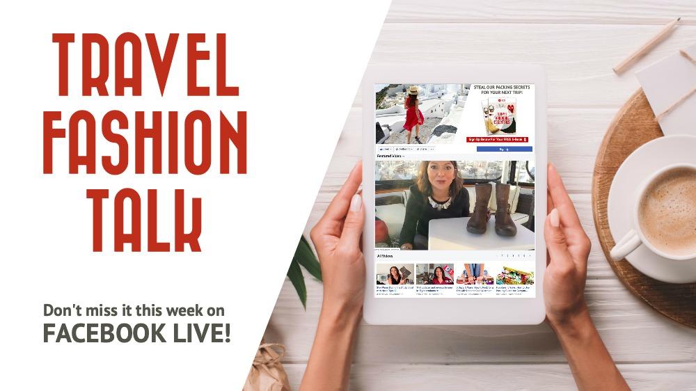 Travel Fashion Talk: Episode November 20, 2019