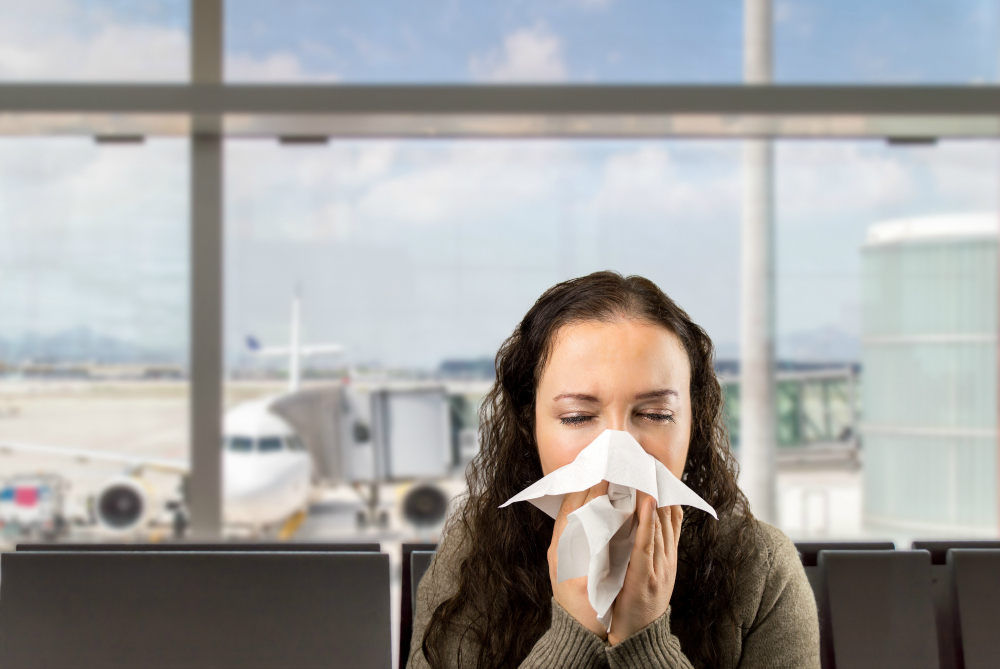 How to Avoid Getting Sick on a Plane or While Traveling
