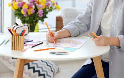 Best Adult Coloring Books for Travel to Relax at Home or on the Plane