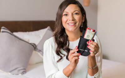 Savvy Travelers Rely on This Secret Bra Wallet to Stash Cash and Cards