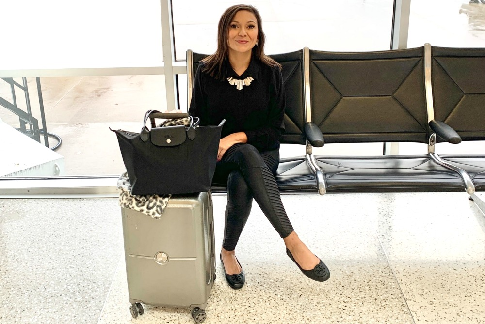 Why Spanx Faux Leather Leggings Are the Newest Travel Fashion Must-Have