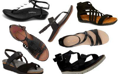 The Best Black Sandals for Summer Travels