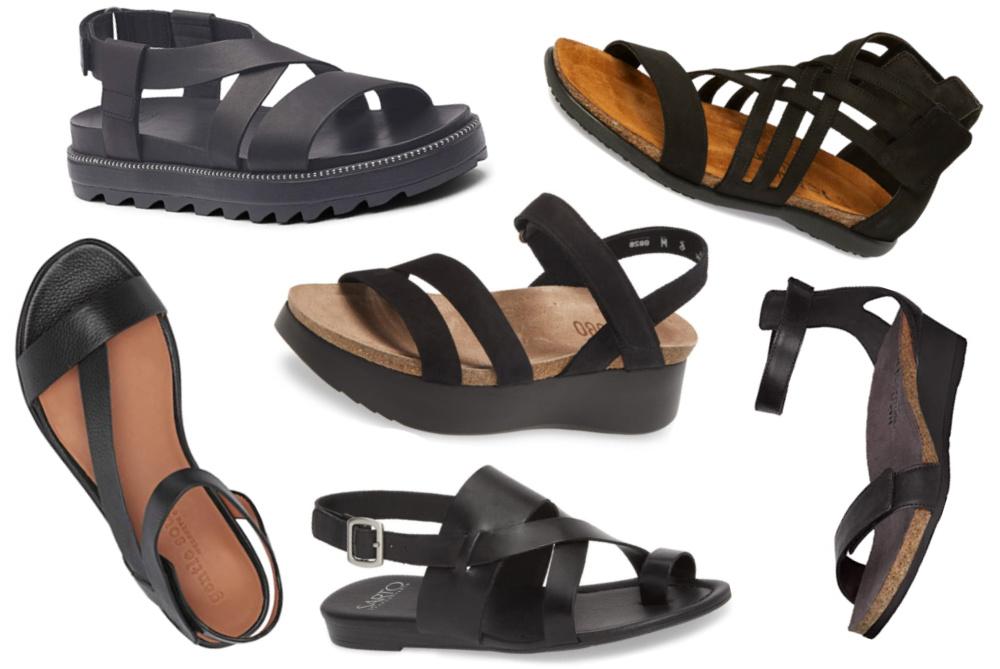 womens-black-sandals