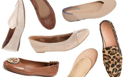 20 Cute and Comfortable Nude Ballet Flats to Complement Any Outfit
