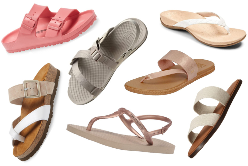 12 Best Beach Sandals for Women